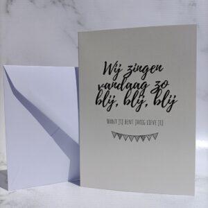 wenskaarten met unieke teksten voor verjaardag