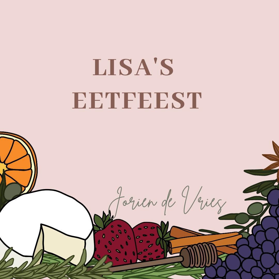 feelgood lisa's eetfeest jorien de vries